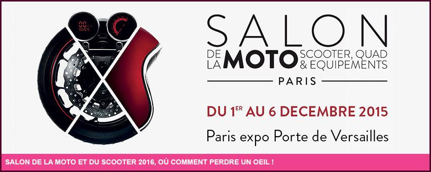 Le salon de la moto et du scooter 2016 for Salon de la moto 2016