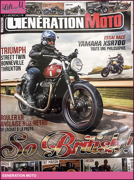 generation moto magazine blogueuse moto. Black Bedroom Furniture Sets. Home Design Ideas