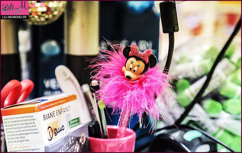 Des stylos en tête de Minnie
