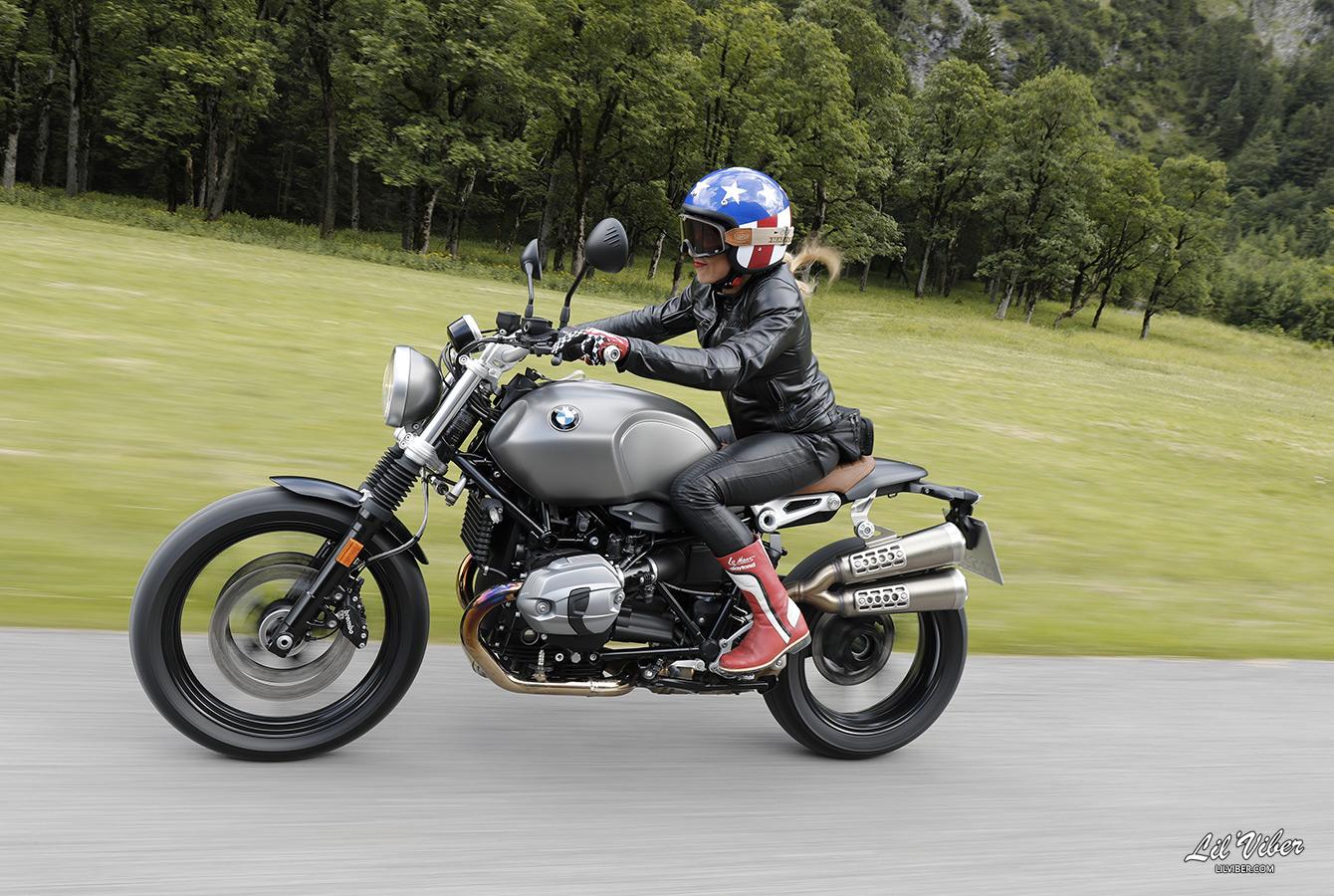 Bmw R Ninet Scrambler Essai Moto Femme