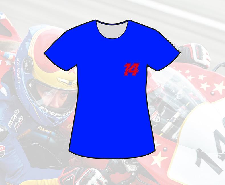 Tshirt bleu (femme)