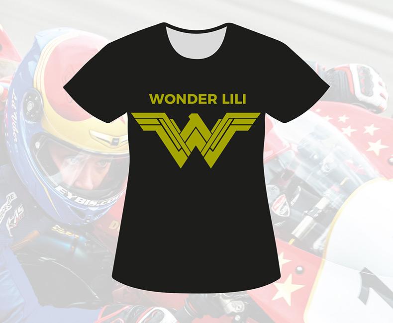 T-shirt Noir (Femme)
