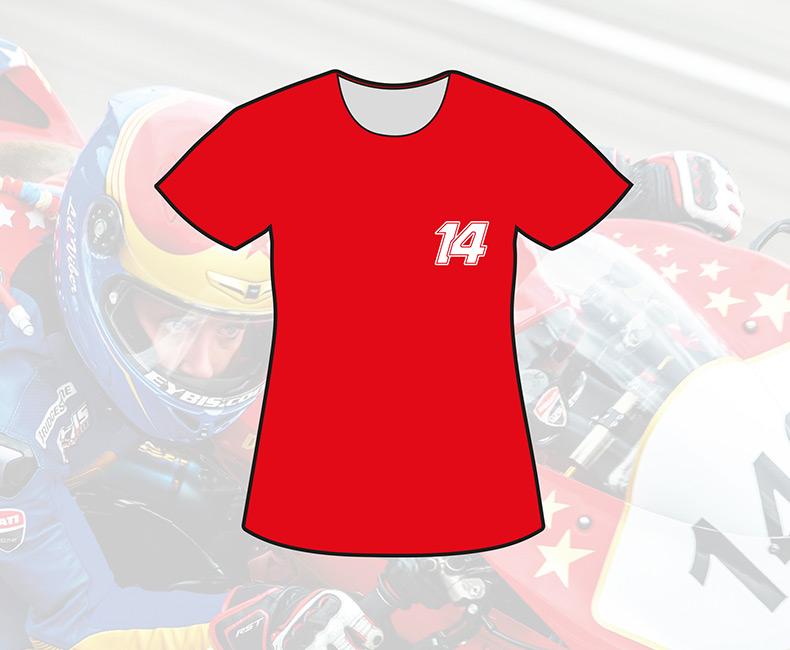 T-shirt Rouge (Femme)